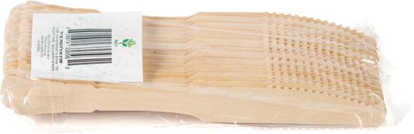 סכין עץ עלי דקל 25 יחידות ECO ECO